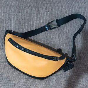 Coach Warren Yellow Belt Bag